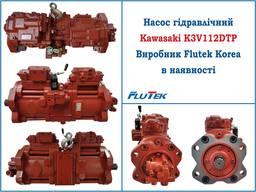 Насос гідравлічний в зборі з PTO Kawasaki K3V63DTP-YISER-9C0