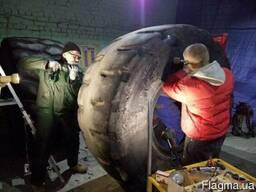 Ремонт крупногабаритных шин по доступной цене
