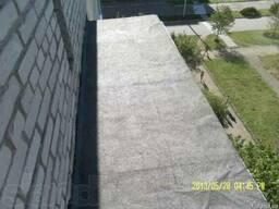 Ремонт крыш балконов.Кровля балконных козырьков.