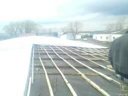 Ремонт крыш на ангарах, зернохранилищах - фото 3