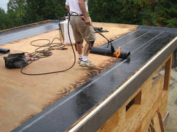 Кровельные работы Черкассы. Ремонт крыши (даху) гаража.