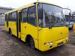 Ремонт кузова автобуса Богдан