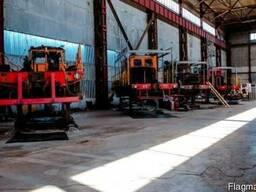 Ремонт локомотивов и автомотрис