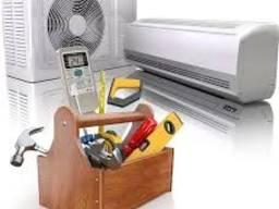 Ремонт, монтаж, сервисное обслуживание, чистка, заправка кондиционеров и систем вентиляции