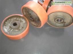 Ремонт полиуретанового покрытия колес, катков