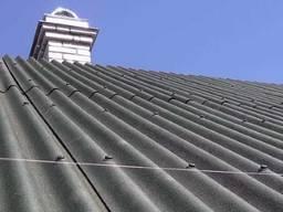 Ремонт старой крыши из шифера