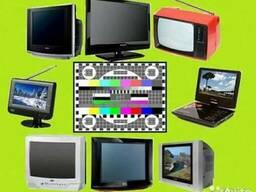 Ремонт телевизоров, мониторов, и др. аудио-видео техники