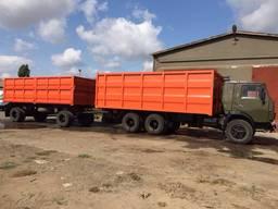 Ремонт тракторних причепів 1ПТС-9, 3ПТС-12 та зерновозів