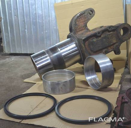 Ремонт трубы шарнира трактора К-700А, К-701