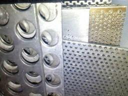 Решета к дробилкам КДУ(388х663) мм Толщина 1,5мм Ячейка...