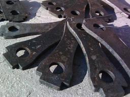 Молотки для зернодробилок фигурные