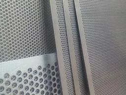 РешетаСепараторов 710х1420 Оц.тол.0,8 мм Круглые 1,8....3.0