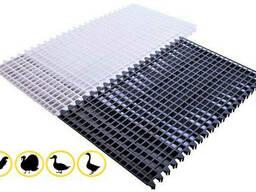 Щелевой пластиковый пол для птицы 1200х600 мм. ..