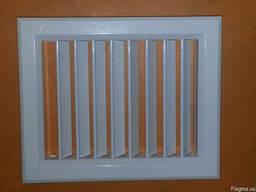 Решетка алюминиевая вентиляционная 140х190