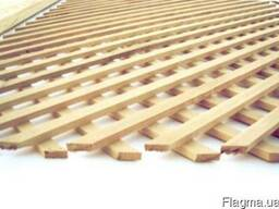 Решетка деревянная