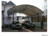 Решетка, дверь, забор, ворота, козырек, ляда, навес - фото 3