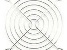 Решітка (гриль) для вентиляторів 92mm, Silver