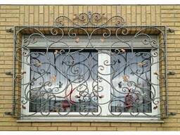 Решетка кованная на окна №B4