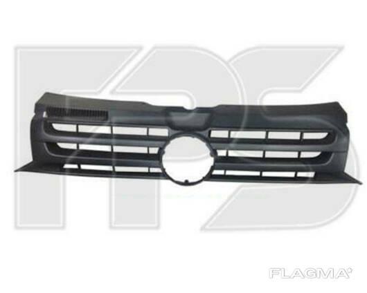 Решетка радиатора Volkswagen T5 (Transporter) 10- черная. ..