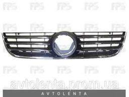 Решетка радиатора VW Polo 05-09 хром/черная (FPS)