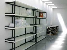 Мебель Loft, сварка стеллажей под магазин, кафе, склад.