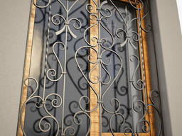 Решетки кованые/сварные на окна/двери под заказ