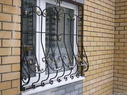Решетки окна, двери, балконы - ковка металл Винница