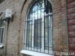 Решетки на окна, двери, балконы. Сварные и кованые. Недорого