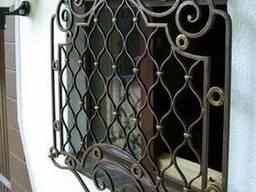 Решетки на окна Киев Одесса, кованые решетки