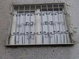 Решетки на окна кованые Запорожее