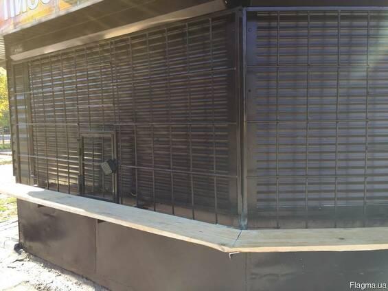 Решетки на киоски, окна, кондиционеры