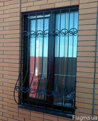 Решетки на окна,оконные решетки Борисполь