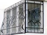 Решетки на окна/Решетки на двери/Оградки - фото 6
