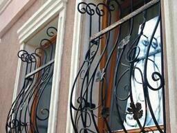 Решетки на окна с художественой ковкой