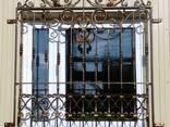 Решетки на окна с художественой ковкой - фото 2