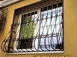 Решетки на окна. Сварные и кованные металлические конструкции - фото 2