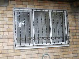 """Решетки на окна вид """"Капля"""" 2. Цена в руб. !"""