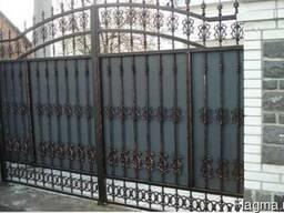 Решетки на окна, заборы, навесы, ворота, ковка