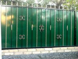 Решетки ворота перила ограды - фото 5