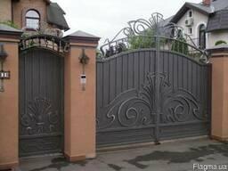 Решетки, ворота, заборы, перила, козырьки, лестницы