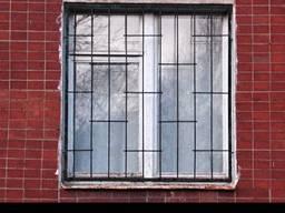 Решоткі на вікна от бюджетних до елітних