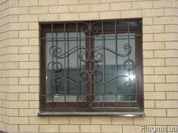Решётки на окна сварные