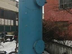 Ресивер 4м3, диаметр 1.8 м, высота 4.5 м, давление -до 15атм