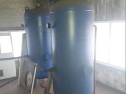 Ресивер воздушный вертикальный БУ (930 литров, 20 бар)