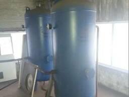 Ресивер воздушный для компрессора 930 литров б/у БУ 30 бар