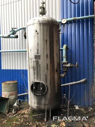 Воздушный ресивер, ресивер, газгольдер, воздухосборник, резервуар любой б. у