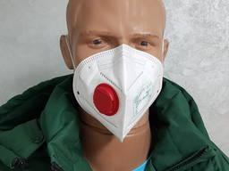 """Респиратор маска защитная """"Днепр-3К-N"""" FFP-3. Опт от 100 шт."""