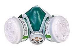 Маска респираторная многоразовая пылегазозащитная Кедр К1Р1