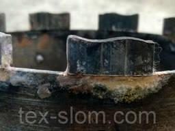 Реставрация алмазных коронок, напайка сегмента