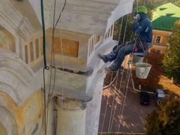 Реставрация фасадов, ремонт межпанельных швов